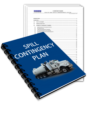 CONTINGENCY PLAN SPILLS - VAC TANK TRUCKS