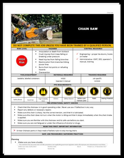 Chain Saw Power Saw