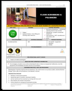 floor scrubbers polishers